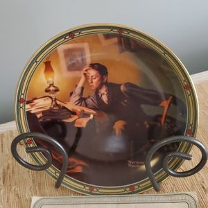 A Young Man's Dream collector plate